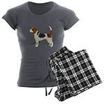 Beagle Women's Charcoal Pajamas
