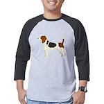 Beagle Mens Baseball Tee