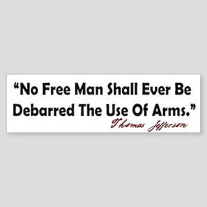 Free Man Bumper Sticker