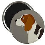Beagle Profile Magnets