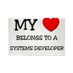 My Heart Belongs To A SYSTEMS DEVELOPER Rectangle