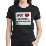 My Heart Belongs To A SYSTEMS DEVELOPER Women's Da