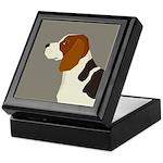 Beagle Profile Keepsake Box