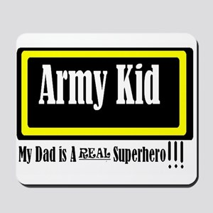 Army Kid Mousepad