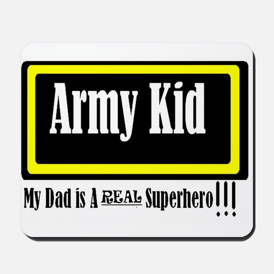 Army Kid Mousepad