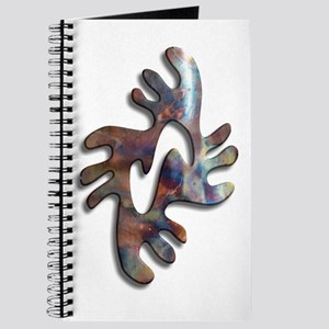 Adinkra - Peace copper Journal