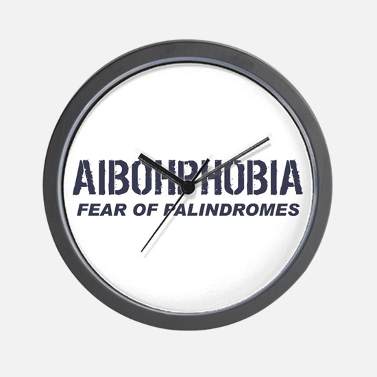 AIBOHPHOBIA Wall Clock