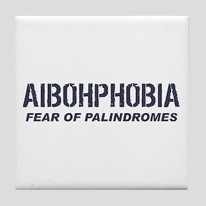 AIBOHPHOBIA Tile Coaster