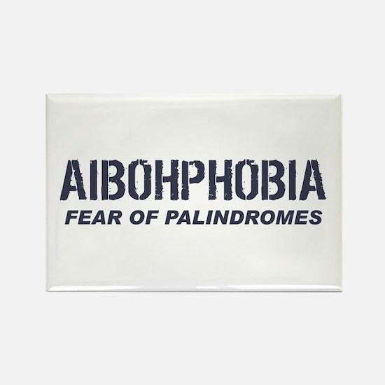 AIBOHPHOBIA Rectangle Magnet