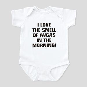 LOVE THE SMELL OF AV GAS IN T Infant Bodysuit