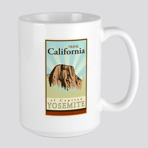 Travel California Large Mug