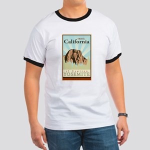 Travel California Ringer T