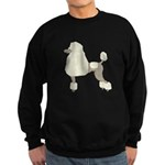 Poodle Cream Sweatshirt