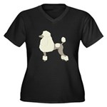 Poodle Cream Plus Size T-Shirt