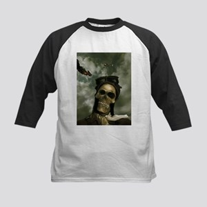 Death From the Skies Kids Baseball Jersey