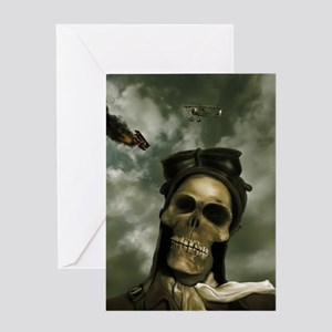 Death From the Skies Greeting Card