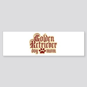 Golden Retriever Mom Sticker (Bumper)