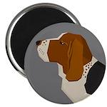 Basset Hound Profile Magnets
