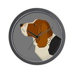 Basset Hound Profile Wall Clock