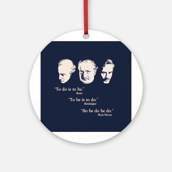 Do Be Ornament (Round)