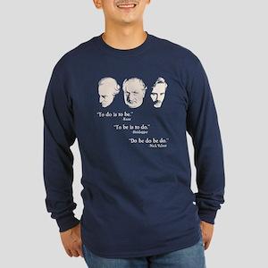 Do Be Long Sleeve Dark T-Shirt