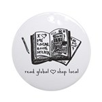 read global Ornament (Round)