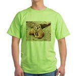Meerkats Green T-Shirt