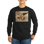 Meerkats Long Sleeve Dark T-Shirt