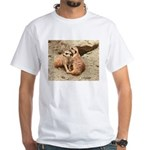 Meerkats White T-Shirt