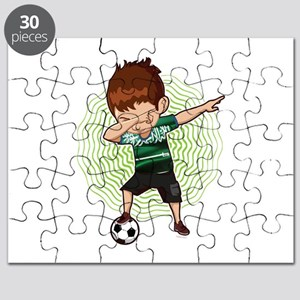 Football Dab Arabia Saudi-Arabia Saudis Foo Puzzle