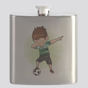 Football Dab Arabia Saudi-Arabia Saudis Foot Flask
