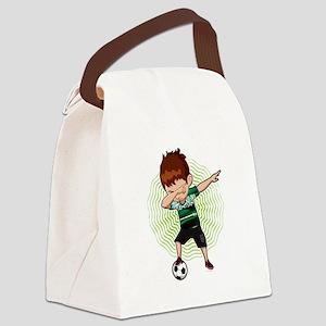 Football Dab Arabia Saudi-Arabia Canvas Lunch Bag
