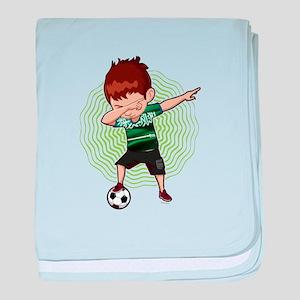 Football Dab Arabia Saudi-Arabia Saud baby blanket