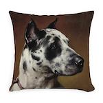Vintage Great Dane Portrait Everyday Pillow