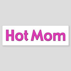 Hot Mom Bumper Sticker
