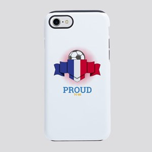 Football French France Socce iPhone 8/7 Tough Case