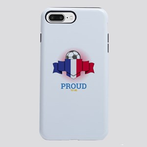Football French France iPhone 8/7 Plus Tough Case
