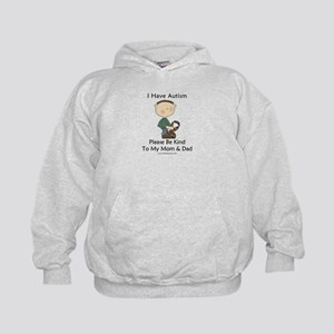 Autism Boy- Be Kind Kids Hoodie