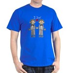 Gay Wedding Grooms Dark T-Shirt