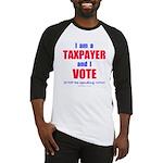 Taxpayer says STOP! Baseball Jersey