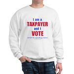 Taxpayer says STOP! Sweatshirt