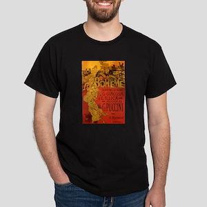 Vintage La Boheme Opera Dark T-Shirt