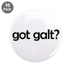 "got galt? 3.5"" Button (10 pack)"