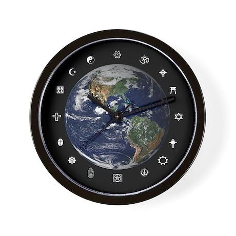 World Religions Wall Clock