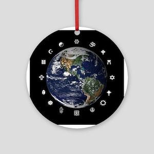 World Religions Ornament (Round)