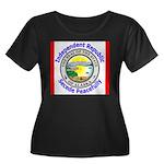 Alaska-5 Women's Plus Size Scoop Neck Dark T-Shirt