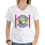 Alaska-5 Women's V-Neck T-Shirt