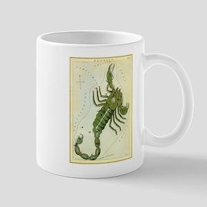 Vintage Celestial Zodiac, Scorpio Mug