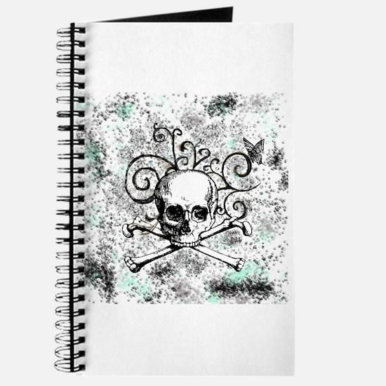 Skull w/swirls Journal