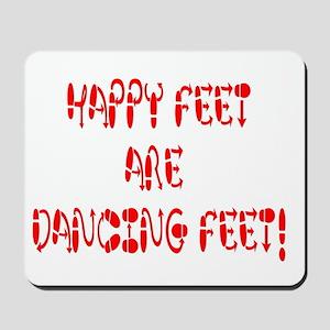 Happy Feet DANCE! Mousepad